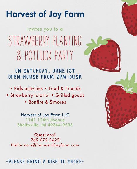 Strawberry invite